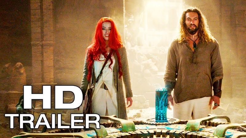 AQUAMAN Arthur Mera Trailer NEW (2018) Jason Momoa Superhero Movie HD