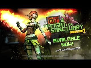 Borderlands 2  commander lilith  the fight for sanctuary official trailer