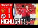 Манчестер Юнайтед 11 Рединг АПЛ U23 18/19 5-й тур 14.09.2018 КРАТКИЙ ОБЗОР