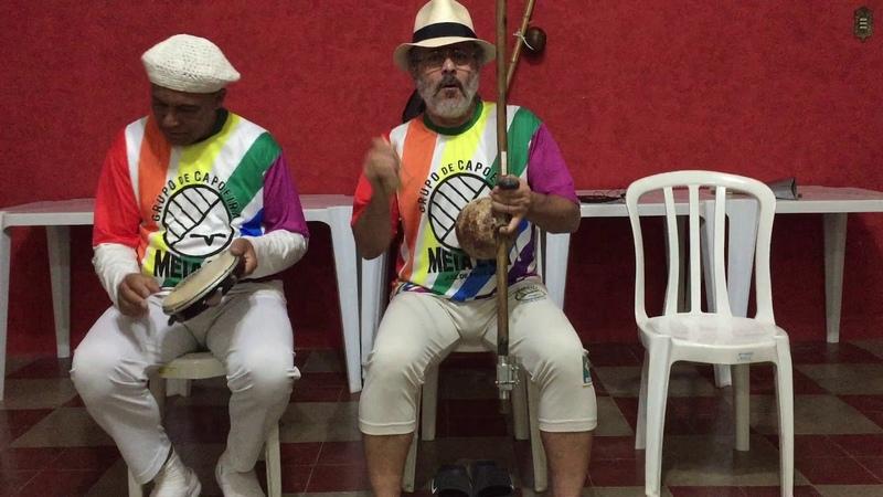 UNICAPOEIRA: Gr. Meia Lua/26abr62. Clube Cultural Tiguera. Polêmico, Professor, Ana. Som. 08ago18