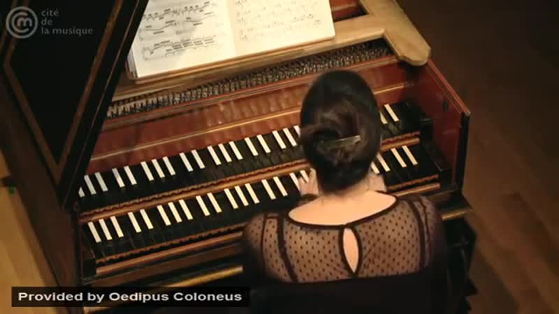Bach_ Prelude for harpsichord in A minor, BWV 922 _ Violaine Cochard
