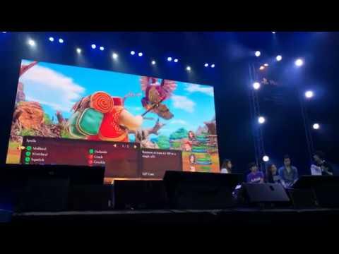 Dragon Quest XI Demo Gameplay (PSX SEA 2018) - GamerBraves