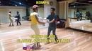 2 STUDENTS KOMPA DANCE CLASS POSTURE GOUYAD