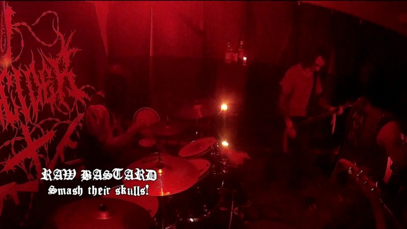 RAW BASTARD - Smash their skulls! (Live from HELL GARAGE MASS 30.06)