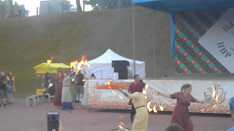 Фестиваль в г. Пскове Финский парк 16 06 18г.