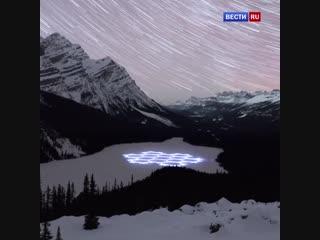 Саймон Бек создает удивительные снежные узоры