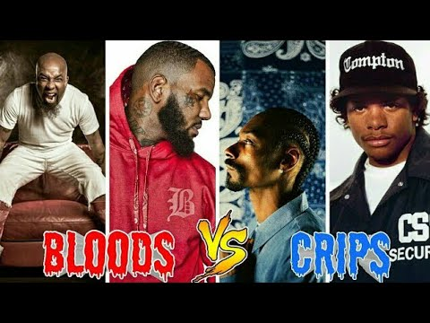 Blood Rappers Vs. Crip Rappers