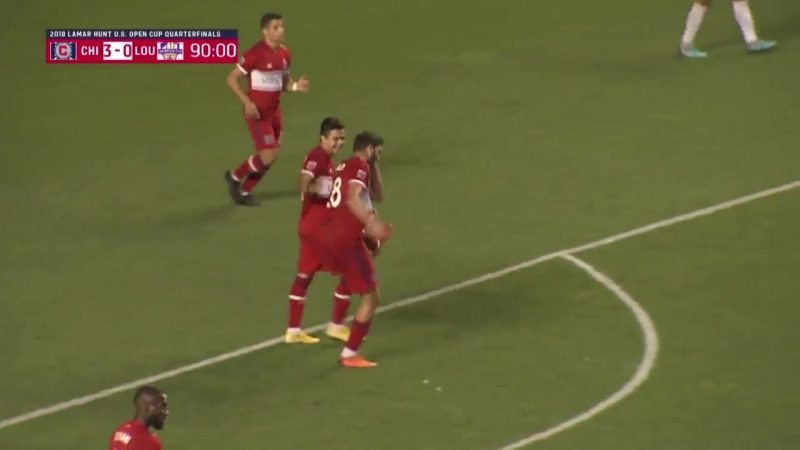 Невероятный соло-гол Эллиота Колье в матче с Луисвилл Сити