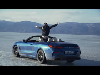 BMW M850i и MINI Cabrio на льду Байкала. Тизер, часть вторая.