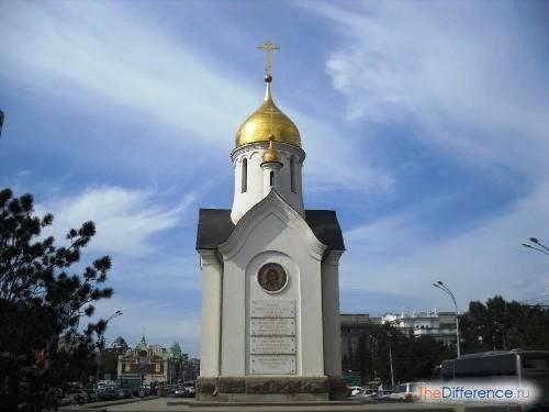 Разница между часовней и церковью