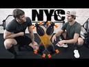 В офисе Facebook Тренировка с Йоном Олсоном Гоняем на скейтах по Нью-Йорку David Laid