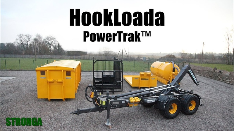 Stronga HookLoada HL180T with PowerTrak™ driven axle – Innovation redefined