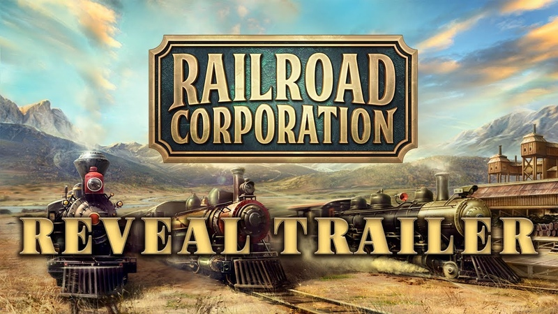 Railroad Corporation - Reveal Trailer (4K)