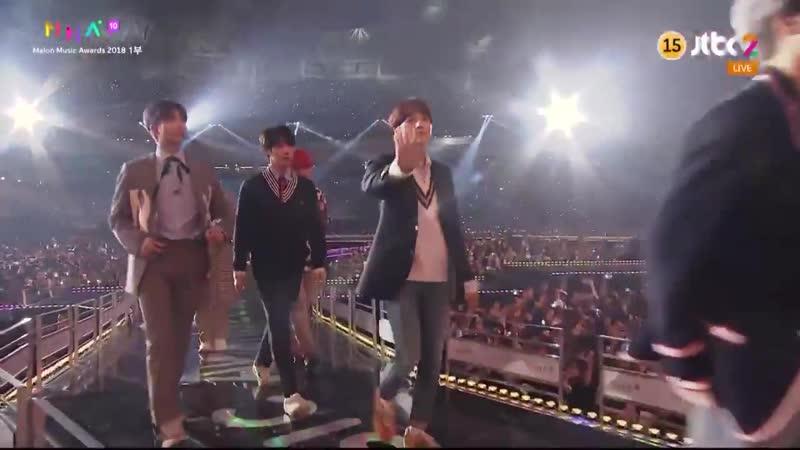 [AWARDS] 181201 BTS won KAKAO HOT STAR at @.MelOn Music Awards 2018