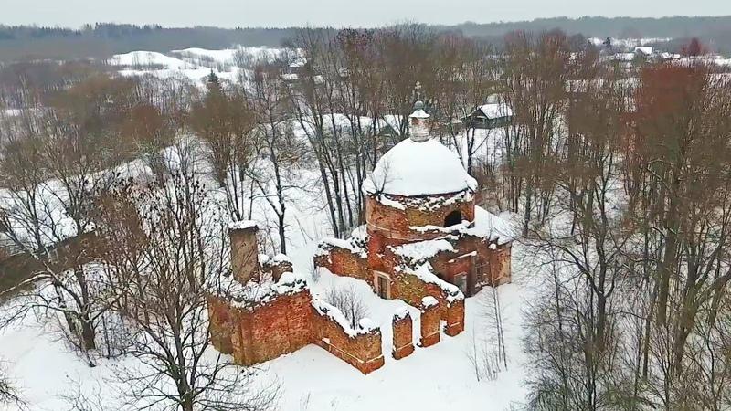 Село Яжелбицы Марево город Холм Поддорье в Новгородской области