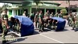 ANGGOTA TNI INI BALAPAN LIAR MENGGUNAKAN TERPAL