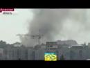Луганск сегодня 12 07 2014 Здание военкомата несколько раз атаковали минометы и артиллерия Обстрел
