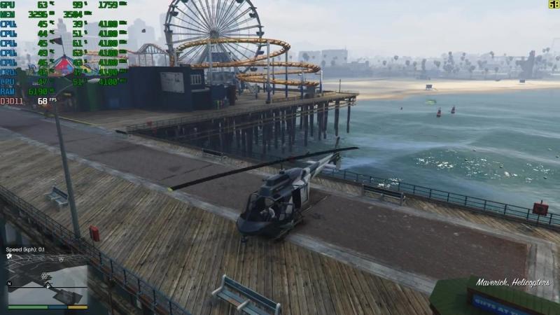 [TestingGames21] Grand Theft Auto V   GTX 1050 Ti   i5 8600k   Ultra Settings