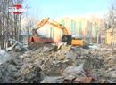 Где складируется мусор после сноса женской консультации Жители соседних домов забили тревогу