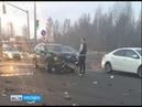 Причиной пробки на проспекта Фрунзе стала авария легковой иномарки и грузовика