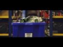 Vaughn Gittin Jr Mustang Burnout Chase of RC Drift Car