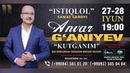 Anvar G'aniyev - Kutganim deb nomlangan konsert dasturi 2017