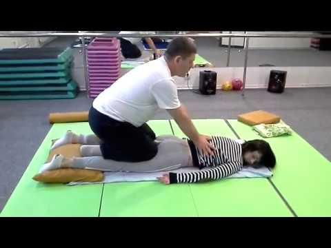 03 Приемы Йога-Массажа для мягкого стретчинга – прием Кобра