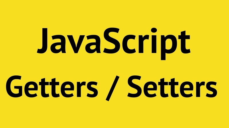 JavaScript Getters and Setters