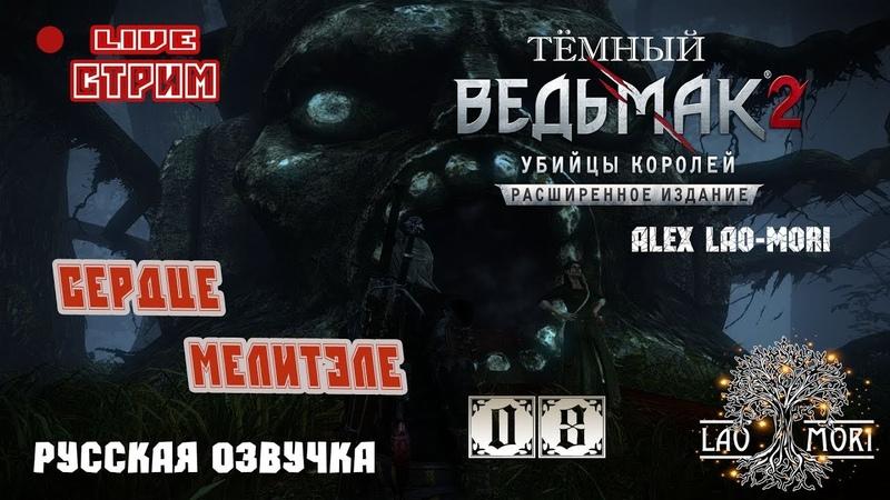 🔴[LIVE STREAM] ▶ (ТЕМНЫЙ) The Witcher 2 Assassins of Kings - СЕРДЦЕ МЕЛИТЭЛЕ! [PC]