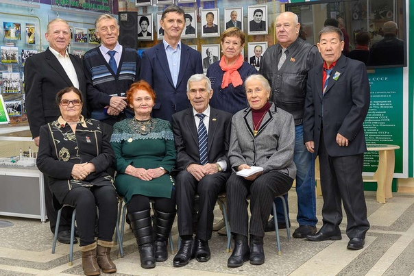В конце 2018 года прошла встреча Почётных граждан Усть-Илимска