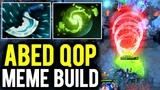 ABED Queen of Pain Blink Dagger &amp Refresher Meme Build against Jabz