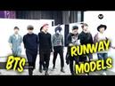 BTS Are Runway Models - Catwalk Compilation