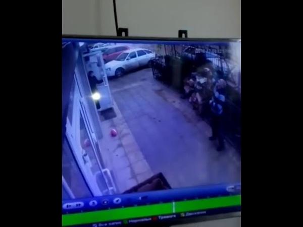 В Дагестане поймали девочку выпавшую с 5-го этажа
