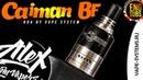 Caiman BF RDA l by Vape System l ENG SUBS l Alex VapersMD review 🚭🔞