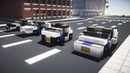 Minecraft NYC NYPD Police Cars Tutorial