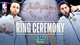 Golden State Warriors Championship Ring Ceremony | October 16, 2018 #NBANews #NBA #Warriors