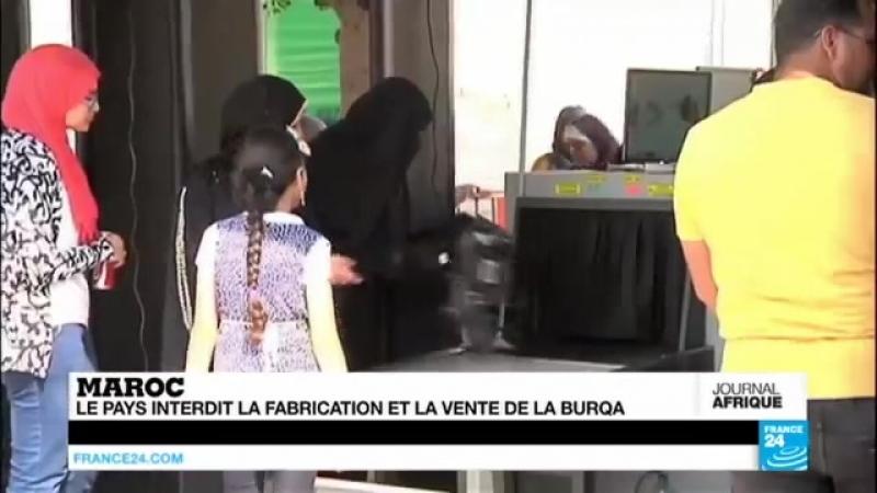 La burqa bannie du Maroc - La fabrication et la vente interdite