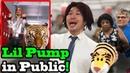 LIL PUMP - Gucci Gang x ESKETIT - SINGING IN PUBLIC!!