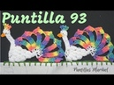 Puntilla 93 | Pavos Reales | Puntillas Maribel
