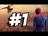 Человек Паук #1 мультик игры для детей Он спасает людей в большом городе