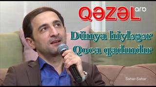 Pərvizin yeni yazığı Qəzəl -