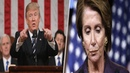 Trump Announces 'State Of The Union' Plans – Burns Pelosi's Swamp Down