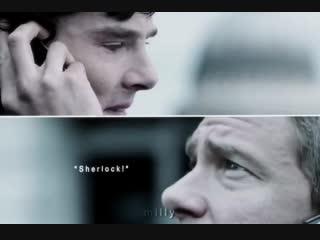 Sherlock BBC Vine | Шерлок | Sherlock Holmes | John Watson | Johnlock | Benedict Cumberbatch | Martin Freeman
