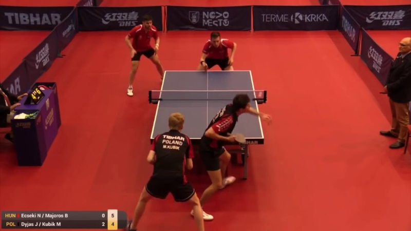 2019 Slovenia Open|Eric Jouti|Gustavo Tsuboi vs Dimitrije Levajac|Zsolt Peto 14(Настольный теннис)