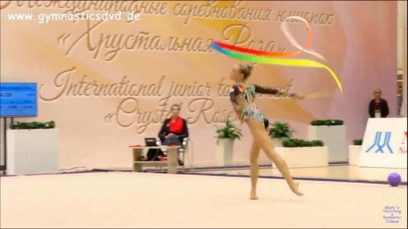 Полина Шматко — Лента(командное многоборье) 16.750