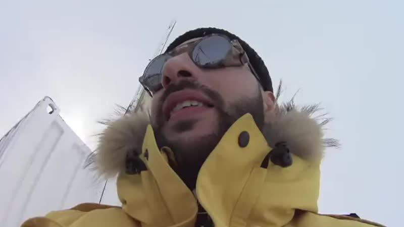 РеперL'One сыграл в баскет в Антарктиде