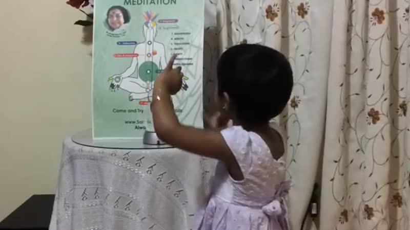2-year old explains Sahaja Yoga Meditation