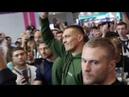 Открытая тренировка Мурата Гассиева перед боем с Усиком видео