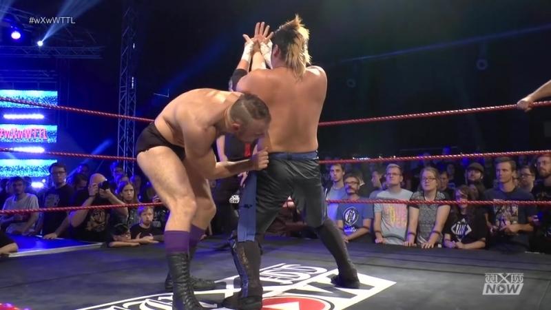 Daichi Hashimoto, Hideyoshi Kamitani vs. Timothy Thatcher, WALTER (wXw - World Tag Team League 2018 - Day 3)