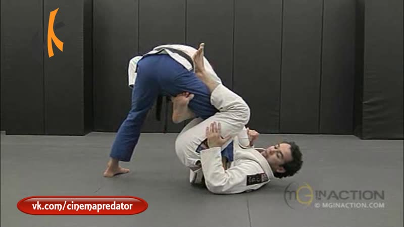 1 Leg X Guard Entry from Open Guard